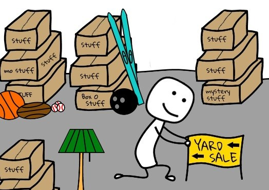 Yard Sale Sign Clipart