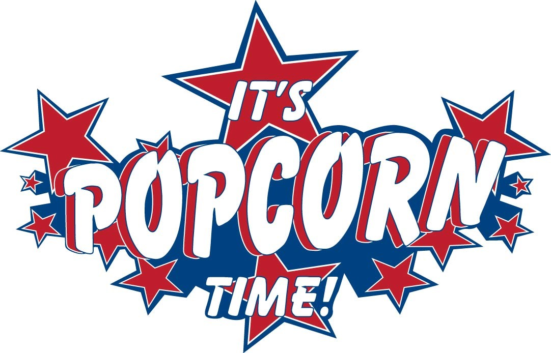 1082x694 Popcorn Signs Clipart