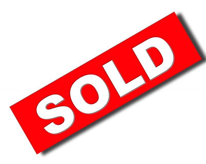 800x636 Sold Signs Fancy Clipart