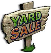 180x186 Yard Sale Sign