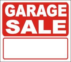 230x202 Yard Sale Signs, Custom Yard Sale Signs, Aluminum