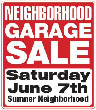 326x372 Garage Sale Sumner Association Of Neighbors (San)