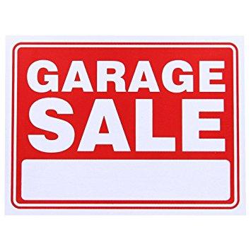 355x355 Garage Sale Sign Yard Signs Garden Amp Outdoor