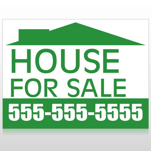 500x500 Real Estate Signs, Custom Real Estate Yard Signs, Open House Signs