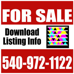 250x250 Real Estate Signs Yard Signs For Sale Signs Sign Riders