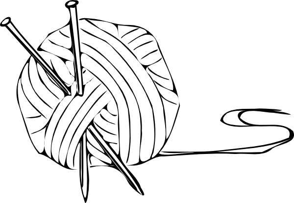 600x414 Knitting Yarn Needles Png, Svg Clip Art For Web