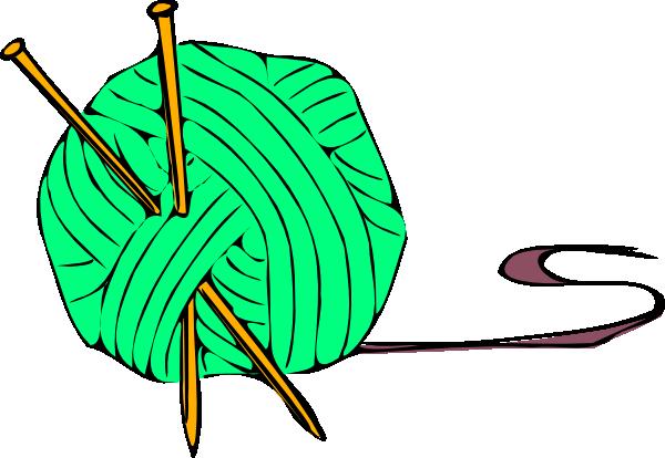 600x414 Mint Green Yarn Clip Art
