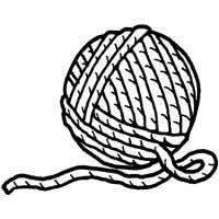 200x200 Yarn Cliparts Printable 277553
