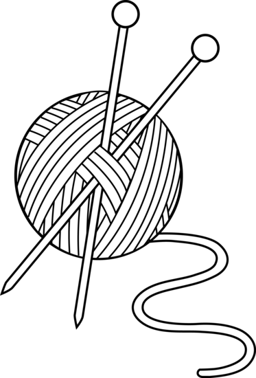 373x550 Yarn Png Black And White Transparent Yarn Black And White.png