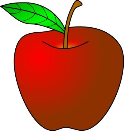 404x425 Yellow Clipart Apple Tree