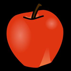 300x300 Apple Clipart Yellow Apple Clipart
