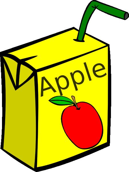 450x601 Apple Juice Box Clip Art