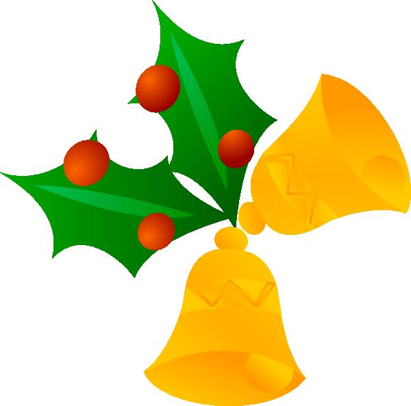 600x593 Christmas Bells (Rotated) Clip Art