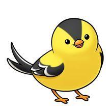 220x220 Cartoon Bird Clip Art Birds Stock Vector Clipart, Vector