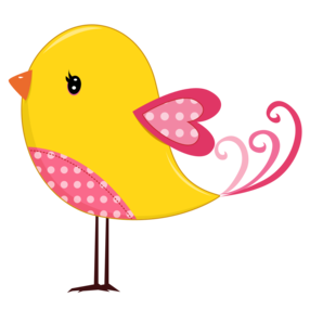 286x286 Pink And Yellow Birds