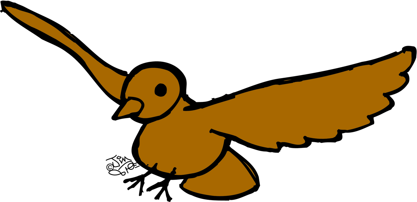 1600x777 Pretty Yellow Bird Clip Art The Graphics Fairy