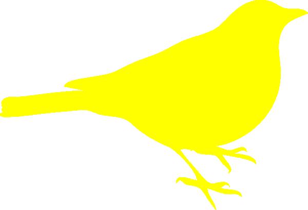 600x410 Yellow Bird Clip Art