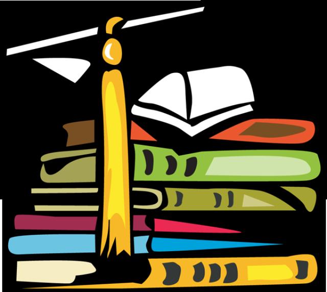 640x572 Book Graduation Clipart, Explore Pictures