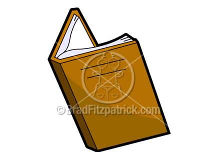 432x324 Cartoon Book Clipart Picture Royalty Free Open Book Clip Art