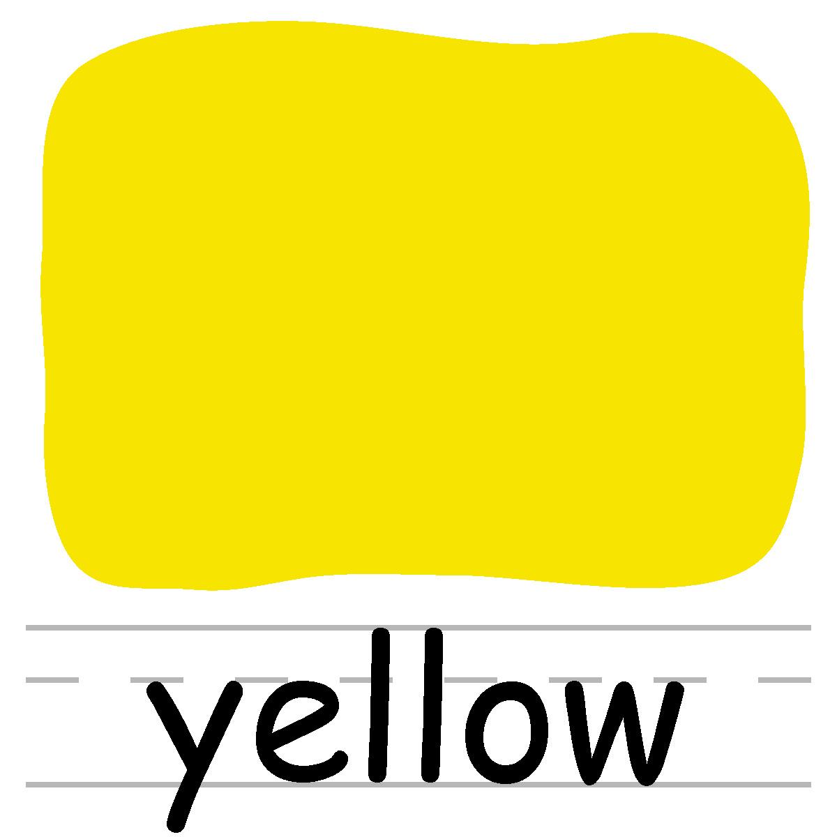 1200x1200 Yellow Clipart