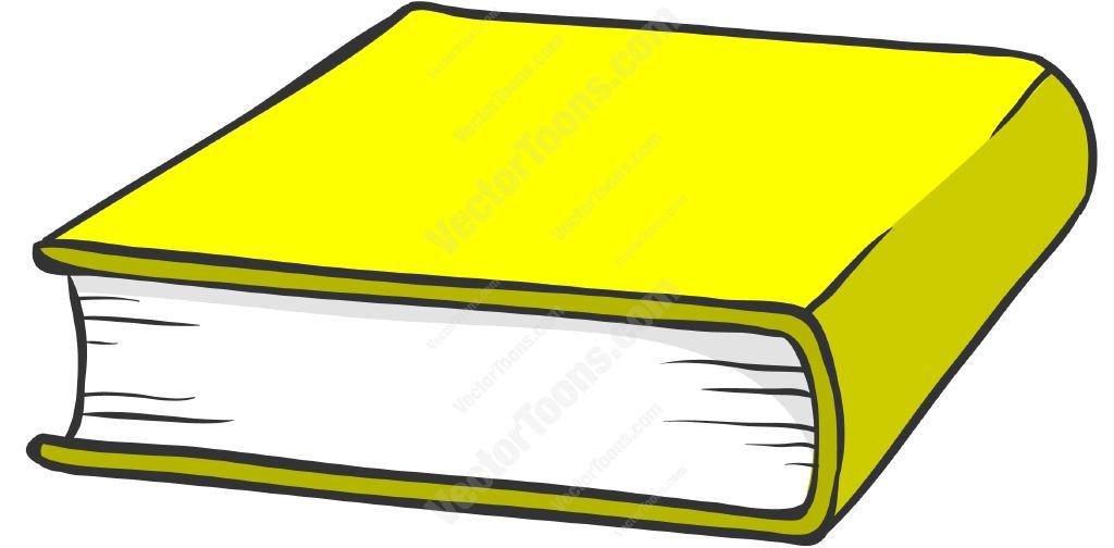 1024x504 Yellow Hardcover Book Cartoon Clipart