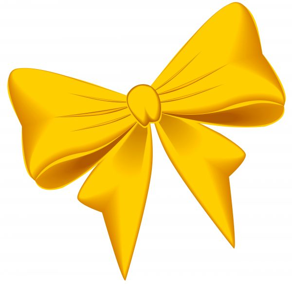 600x590 Illustrated Image Of A Yellow Ribbon.