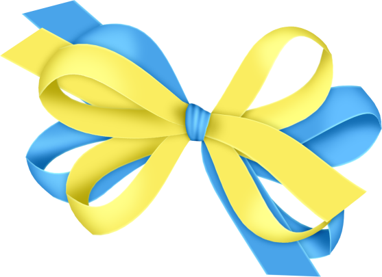557x405 Blue And Yellow Bow Clipartu200b Gallery Yopriceville