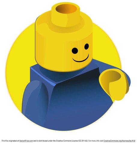 456x478 Lego Brick Clip Art, Vector Lego Brick