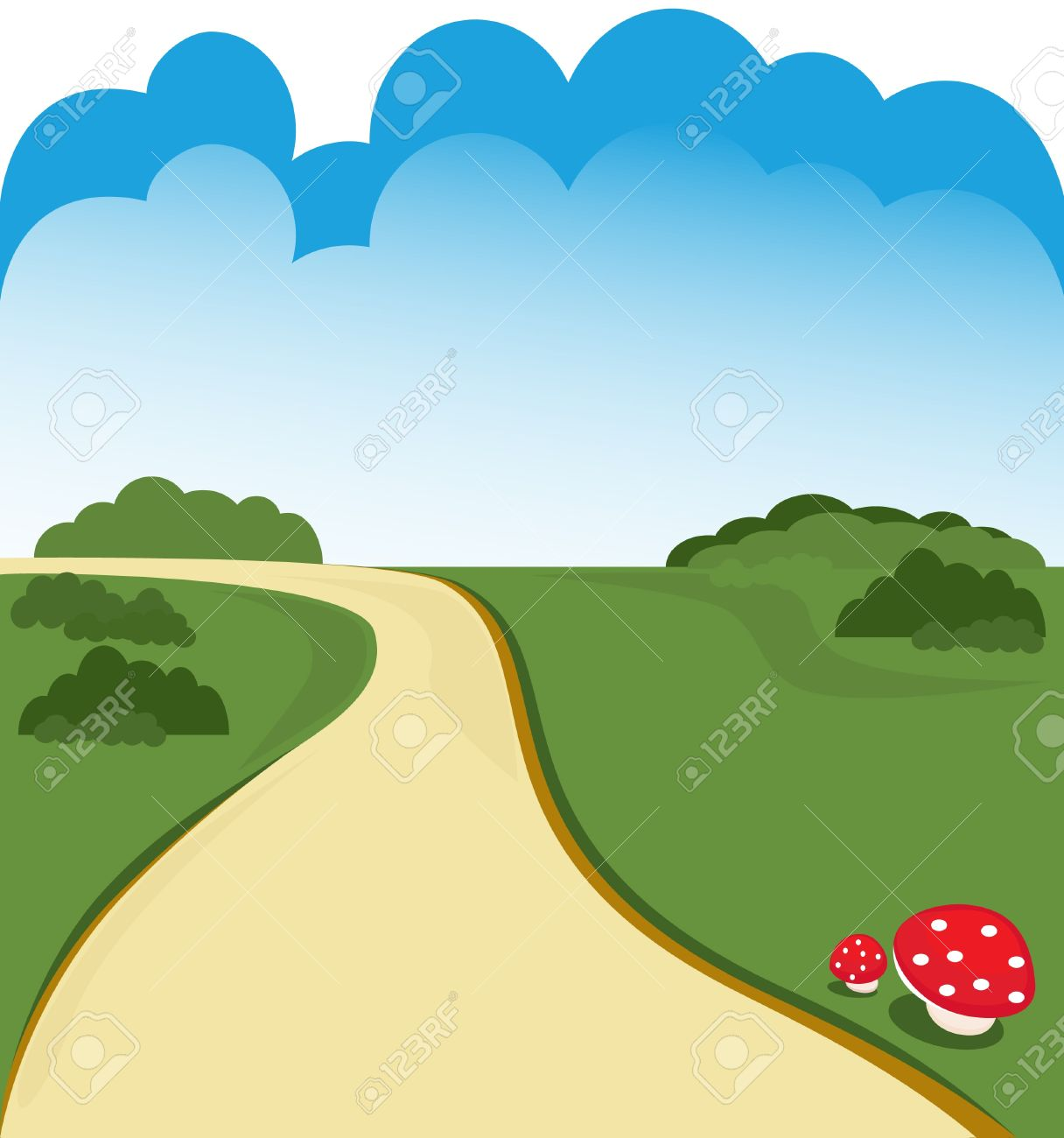 1216x1300 Road Clipart Cartoon