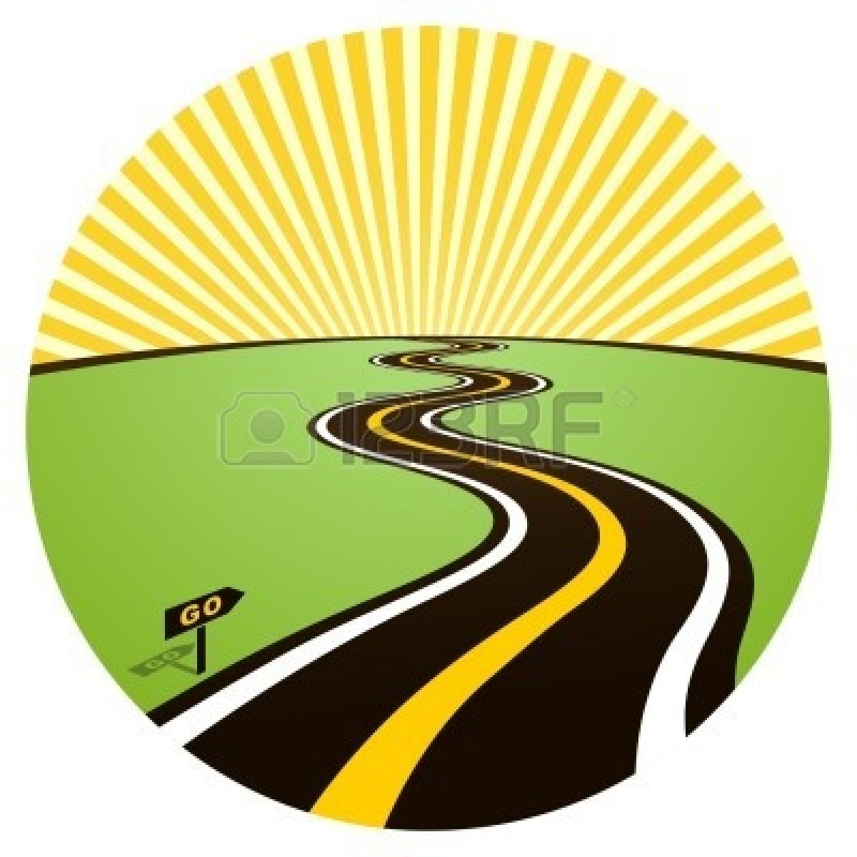1200x1200 Road Clipart Highway