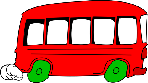 Yellow Bus Clipart