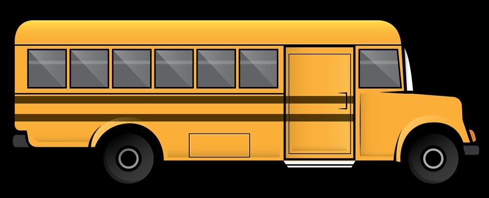 1000x405 Free Clip Art School Bus Clipart Images 4