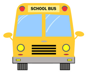300x254 School Bus Clipart Image