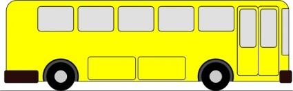 425x133 Yellow Bus Clip Art Clip Arts, Free Clip Art