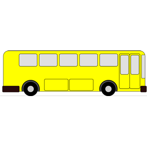 300x300 Yellow Bus Clipart, Cliparts Of Yellow Bus Free Download (Wmf, Eps
