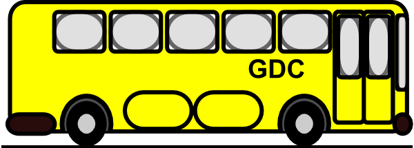 600x215 Bus Clipart Small