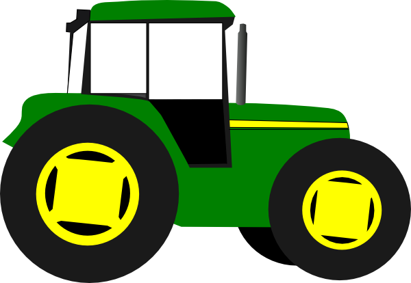 600x414 Tractor Images Clip Art