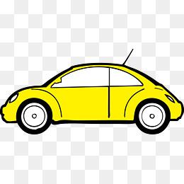 260x260 Vector Car Yellow Cartoon Car, Vector, Car, Yellow Png And Vector