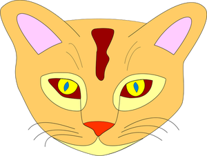 Yellow Cat Clipart