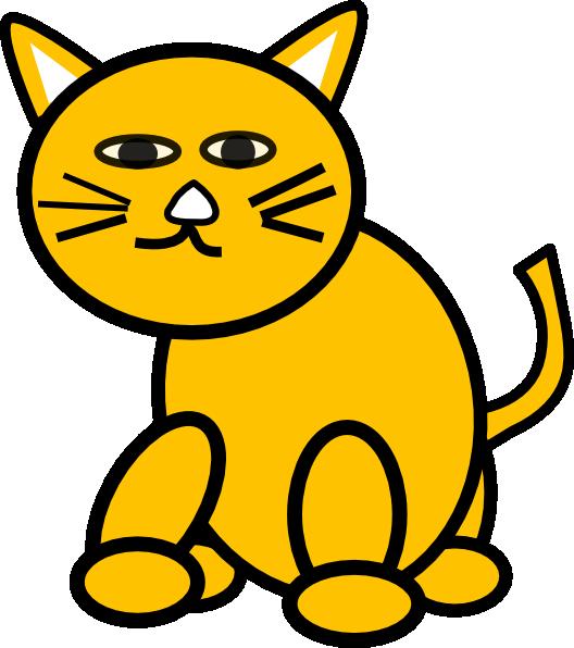 528x596 Cat Round Clip Art
