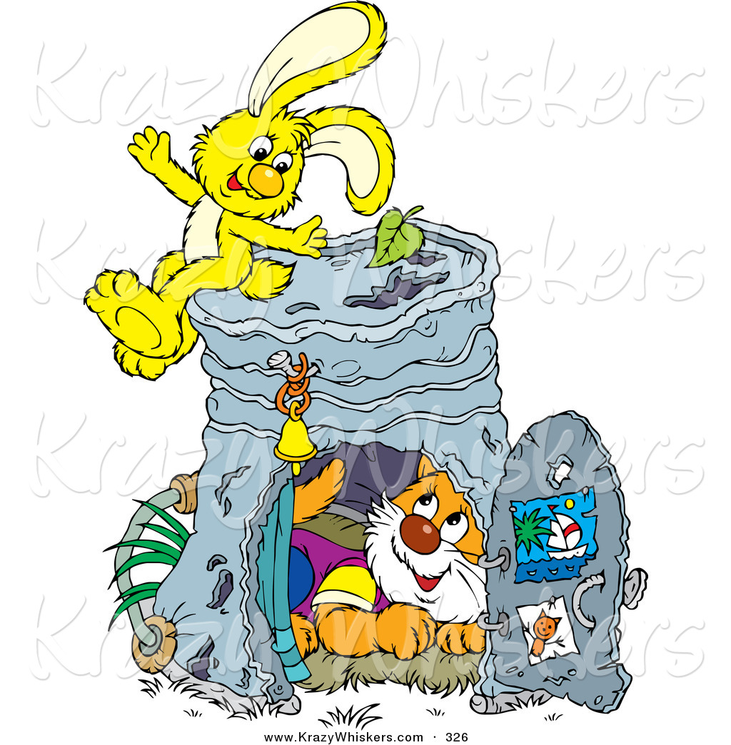 1024x1044 Critter Clipart Of Cute Orange Cat Inside Pail Club House,