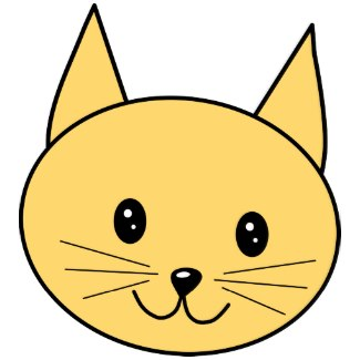 325x325 Face Cat Clipart