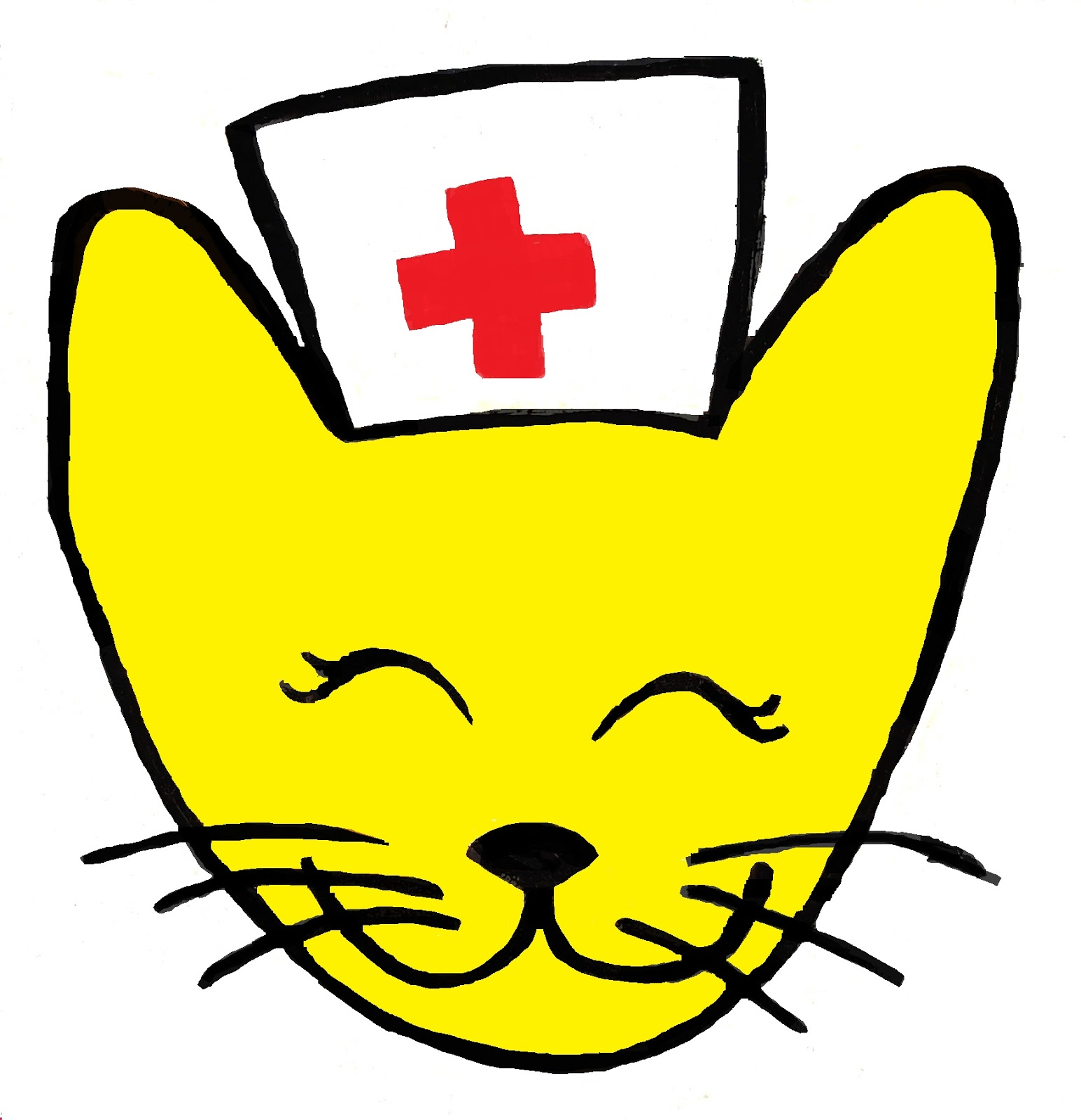 1544x1600 Nurse Clipart Cat