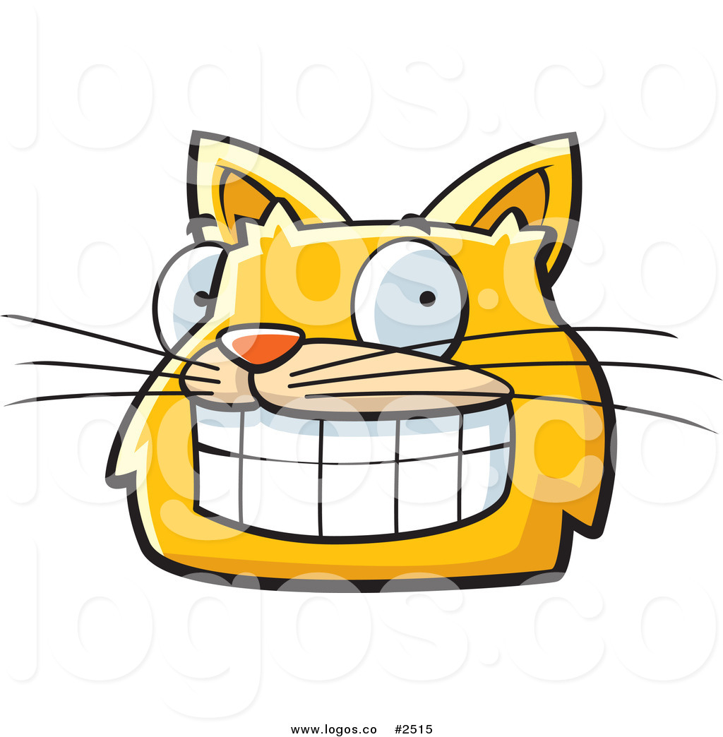 1024x1044 Royalty Free Happy Yellow Cat Face Logo By Cory Thoman