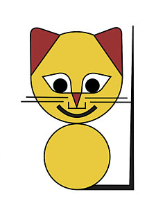 225x300 Yellow Cat Prints Fine Art America