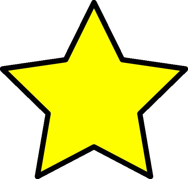 600x571 Yellow Star Clip Art