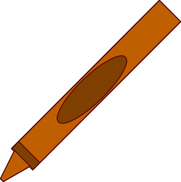 594x596 Totetude Yellow Crayon Clip Art