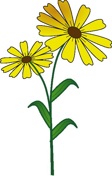 384x600 Daisy Clip Art