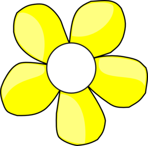 300x297 Yellow And White Daisy Clip Art