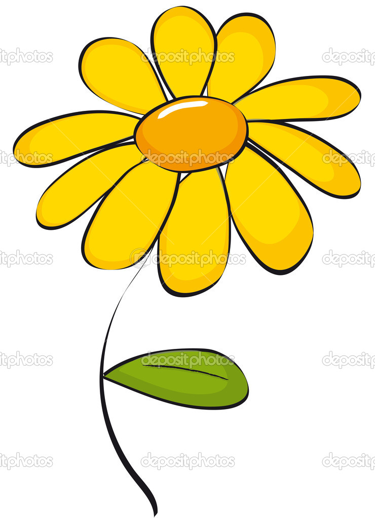 740x1023 Yellow Daisy Clipart Kid